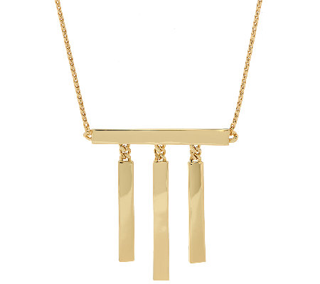 Linea by Louis Dell'Olio 3 Bar Necklace
