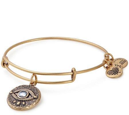 Alex and Ani Evil Eye Charm Bangle