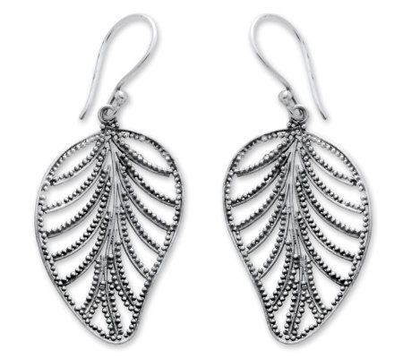 "Novica Artisan-Crafted Sterling ""Nature's Gift""Earrings"