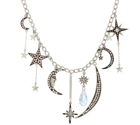 Kirks Folly Astral Moon Goddess Charm Necklace