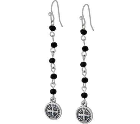 My Saint My Hero Drops from Heaven Earrings