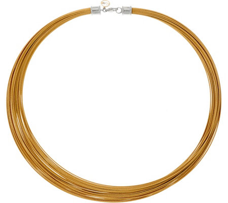 Alor Cable Stainless Steel 30 Strand Necklace