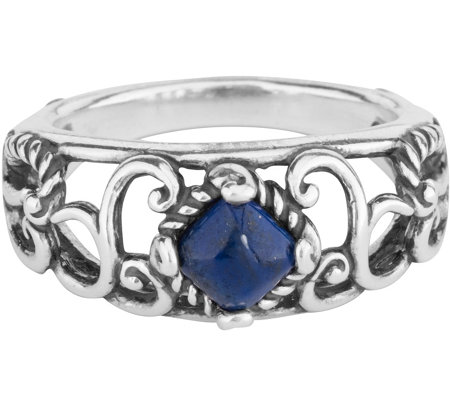 Carolyn Pollack Possibilities Lapis Band Ring