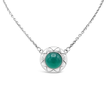 Elyse Ryan Sterling Silver Chalcedony Necklace