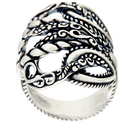 Carolyn Pollack Sterling Silver Lasting Connections Ring