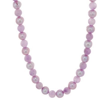 New Honora Cultured Pearl & Gemstone Bead Necklace, Sterling Silver  EE52