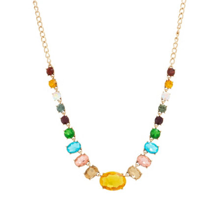 LOGO Links by Lori Goldstein Colorful Estate Necklace