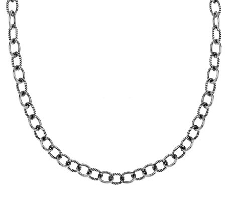"Carolyn Pollack Sterling Signature 20"" Chain, 30.0g"