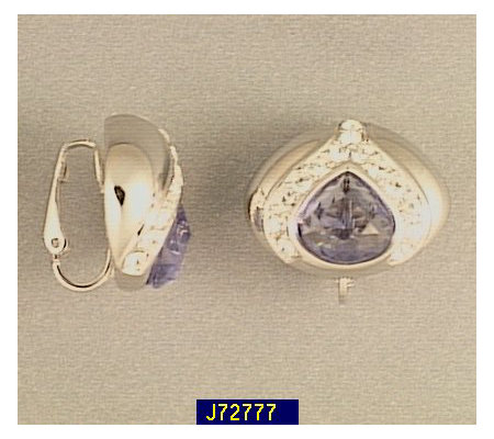 Joan Rivers Simulated Tanzanite Earrings