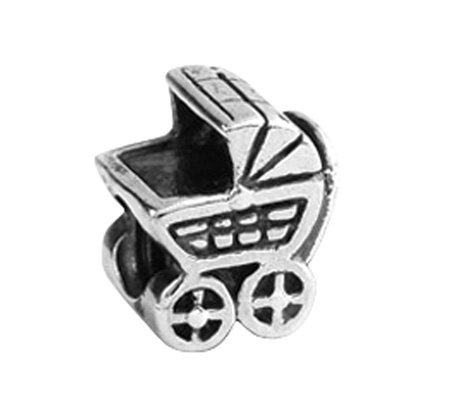Prerogatives Sterling Baby Carriage Bead
