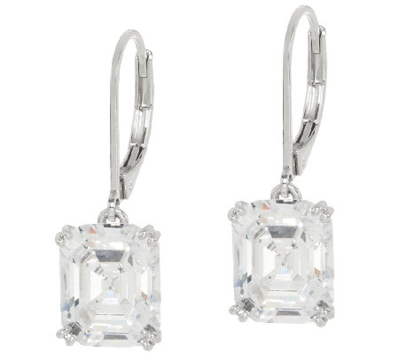 The Elizabeth Taylor Simulated Diamond Earrings