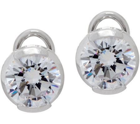 TOVA for Diamonique 4.00 cttw Stud Earrings, Sterling