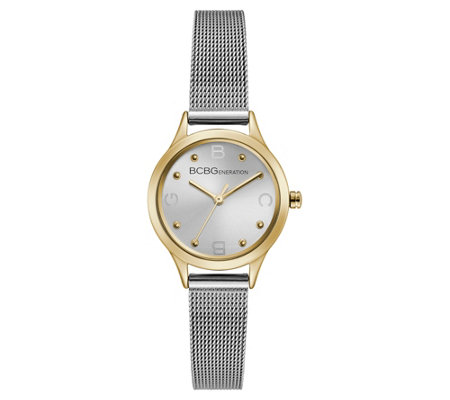 BCBGeneration Women's Stainless Goldtone Case Watch