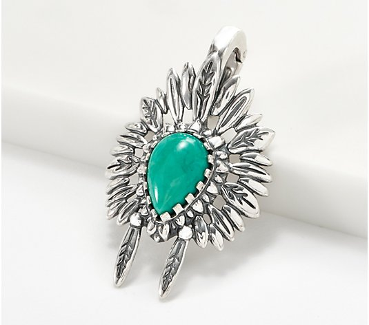 American West Sterling Silver & Gemstone Headdress Enhancer