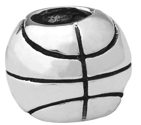 Prerogatives Sterling Basketball Bead