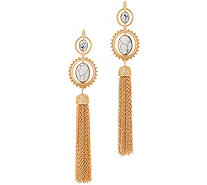 Samantha Wills Rosewater Canyon Gemstone Tassel Earrings - J356580