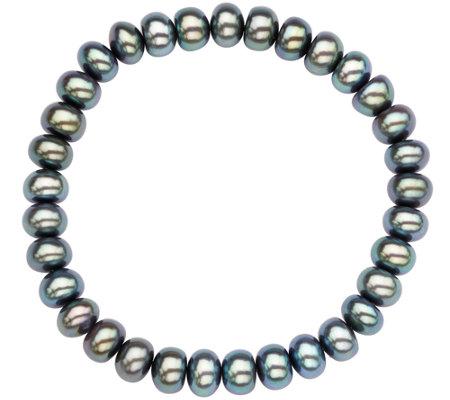 Honora Cultured Pearl 7 0mm 8 0mm Rondel 7 1 2 Bracelet