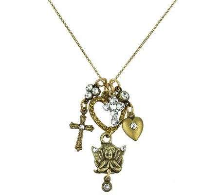 Anne Koplik Faith Jumble Necklace