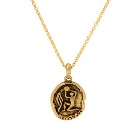 The Elizabeth Taylor Zodiac Necklace