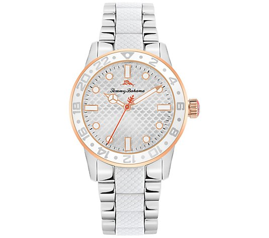 Tommy Bahama Women's White West Palm Beach Watch