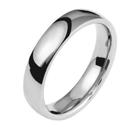 Titanium 5mm Polished Ring