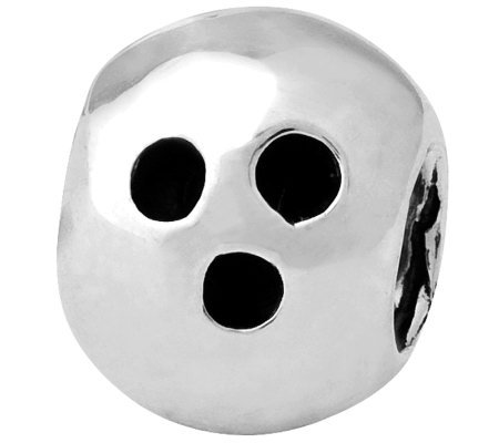 Prerogatives Sterling Bowling Ball Bead