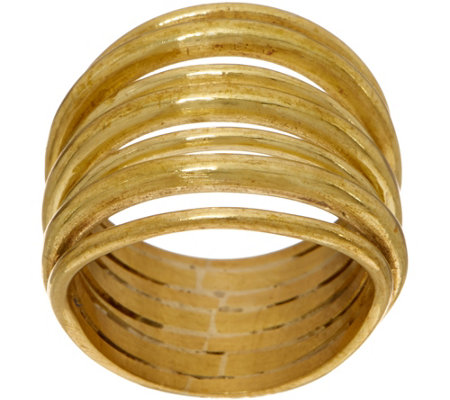 Soko Layered Strand Ring