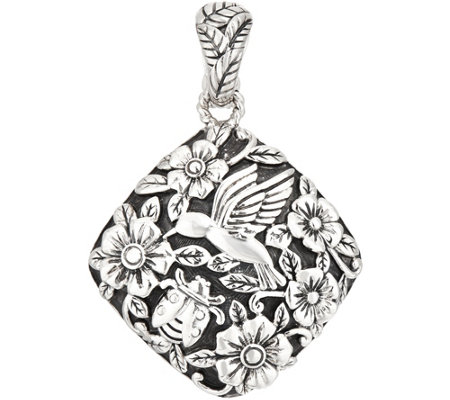 JAI Sterling Silver Garden Party Enhancer, 15.2g