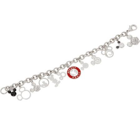 Mickey S 90th Birthday Through The Years Charm Bracelet