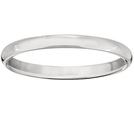 Women's Platinum 2.5mm Half Round Wedding Band