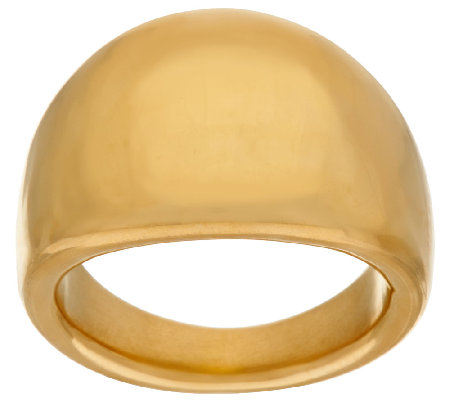 Oro Nuovo Polished Tapered Band Ring, 14K