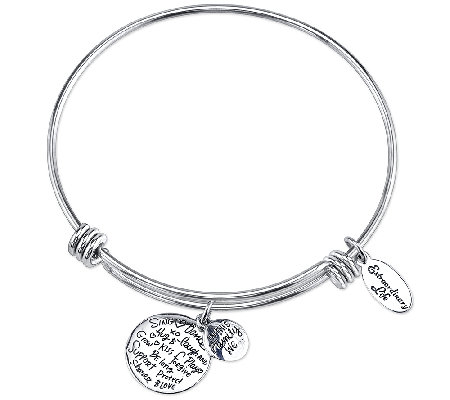 Extraordinary Life Sterling Family Adjustable Bangle