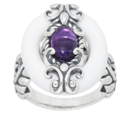 Carolyn Pollack Sterling Silver Color Connections Ring