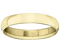 Men's 14K Yellow Gold 4mm Polished Comfort FitWedding Band - J379288