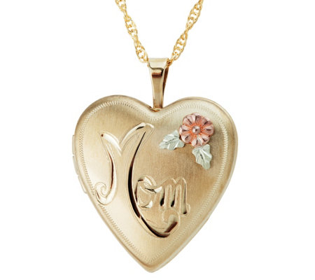 Black Hills Mom Locket 10k 12k Gold