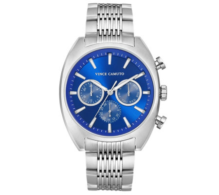 Vince Camuto Men S Stainless Braceletwatch