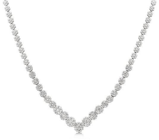 Affinity 3.00 cttw Diamond Tennis Necklace, 14K