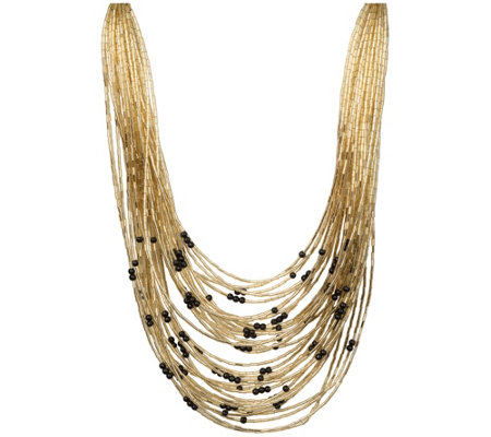 Linea by Louis Dell'Olio Midas Multi-StrandNecklace