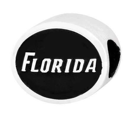 Sterling Silver University of Florida Bead
