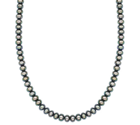 "Honora Sterling 7.0mm - 8.0mm Cultured Pearl 18"" Necklace"