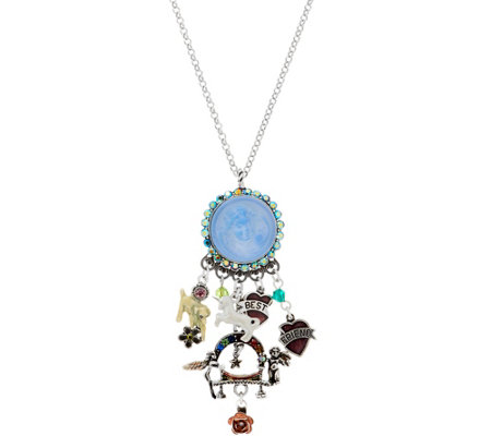 Kirks Folly Rainbow Bridge Dream Angel Necklace
