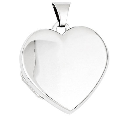 Sterling Double-Frame Heart Locket