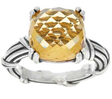 Peter Thomas Roth Sterling Fantasies 6.20 ct Citrine Ring