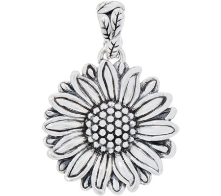 JAI Sterling Silver Olive's Sunflower Enhancer