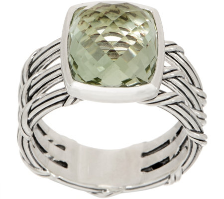 Peter Thomas Roth Sterling Silver & Prasiolite Ring