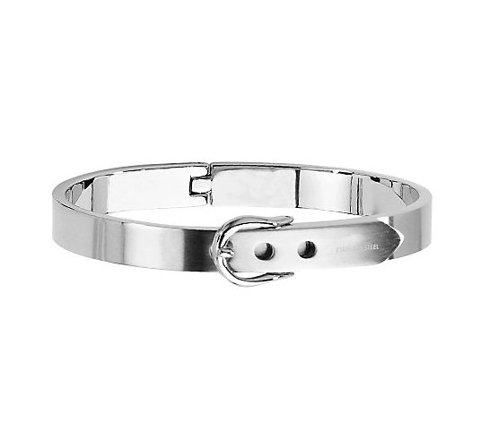 Steel by Design Fancy Belt Hinged Bracelet