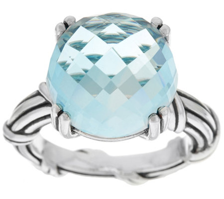 Peter Thomas Roth Sterling Fantasies 11.60 ct Blue Topaz Ring