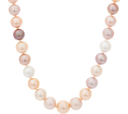 "Honora Ming Cultured Pearl 18"" Necklace, Sterling Silver"