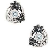 Or Paz Sterling Silver Gemstone Stud Earrings - J356591
