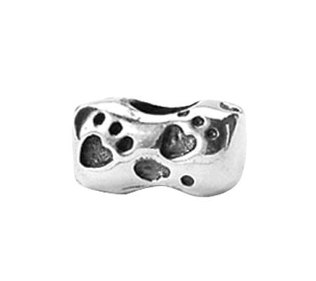 Prerogatives Sterling Dog Bone Bead